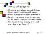 intercalating agents