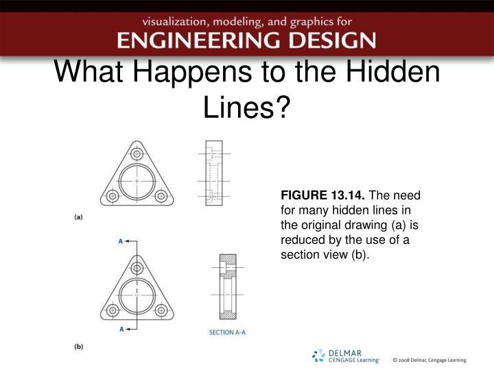 What Happens to the Hidden Lines?