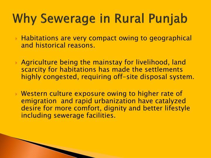 Why Sewerage in Rural Punjab