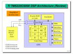 ti tms320c6000 dsp architecture review