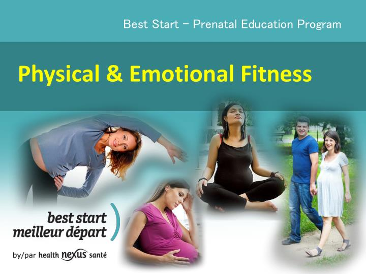 physical emotional fitness n.