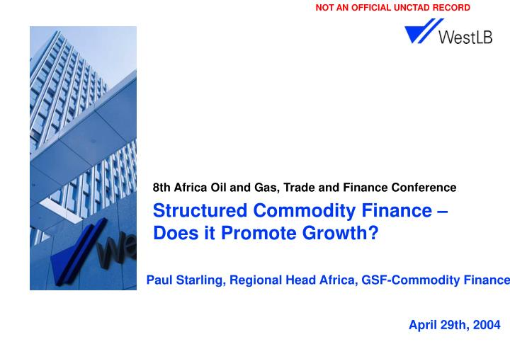 8th africa oil and gas trade and finance conference n.
