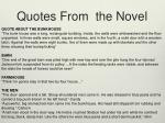 quotes from the novel
