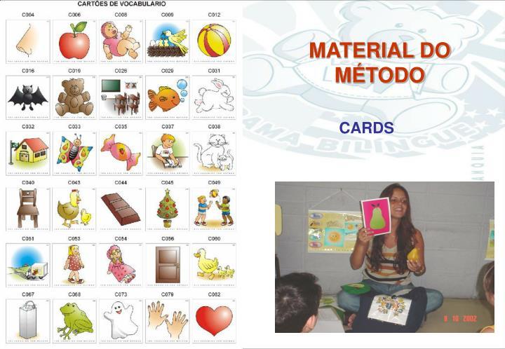 MATERIAL DO MÉTODO