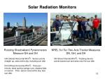 solar radiation monitors