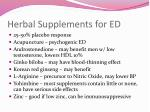 herbal supplements for ed