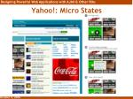 yahoo micro states