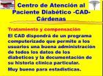 centro de atenci n al paciente diab tico cad c rdenas15