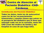 centro de atenci n al paciente diab tico cad c rdenas16