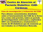 centro de atenci n al paciente diab tico cad c rdenas17