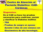 centro de atenci n al paciente diab tico cad c rdenas3