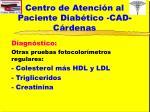 centro de atenci n al paciente diab tico cad c rdenas5