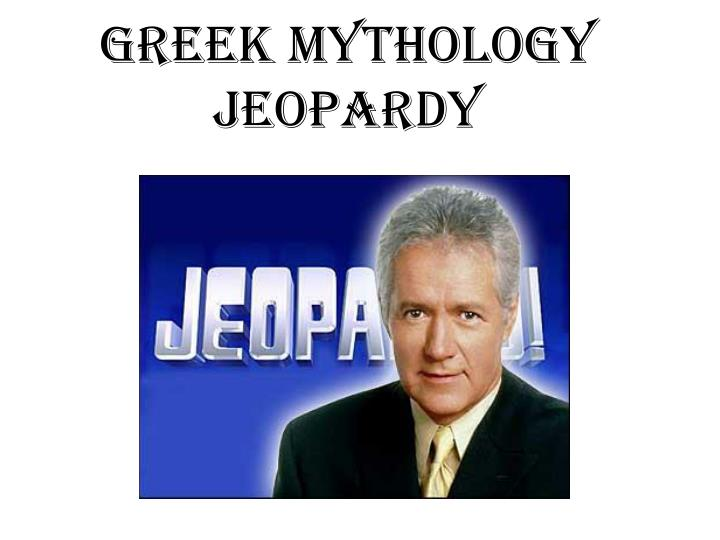 greek mythology jeopardy n.