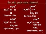 aa with polar side chains 1