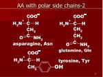 aa with polar side chains 2