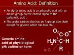 amino acid definition