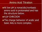 amino acid titration1