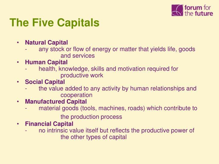 The Five Capitals