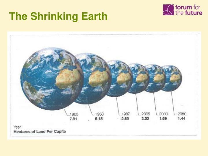 The Shrinking Earth