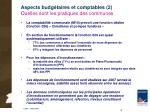 aspects budg taires et comptables 2 quelles sont les pratiques des communes