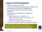 aspects m thodologiques