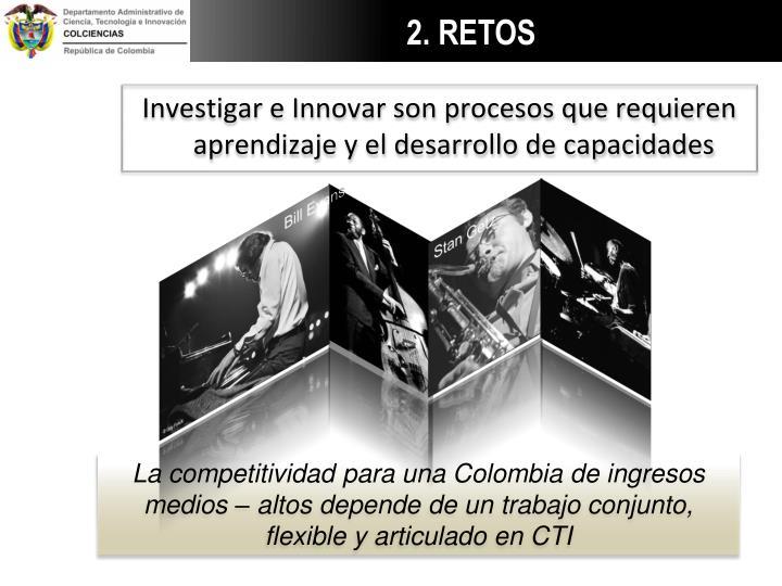 Investigar e Innovar son procesos que requieren aprendizaje y el desarrollo de capacidades