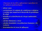 funciones de los sig y aplicaciones espec ficas en la vigilancia epidemiol gica