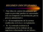 regimen disciplinario2