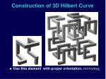 construction of 3d hilbert curve1