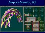 sculpture generator gui