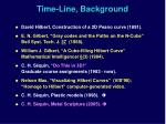 time line background