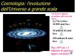 cosmologia l evoluzione dell universo a grande scala