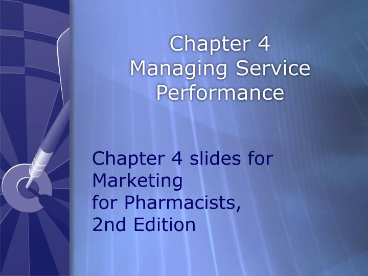 chapter 4 managing service performance n.