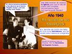 a o 1940 en la casa de los steverlynck