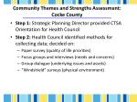 community themes and strengths assessment cocke county