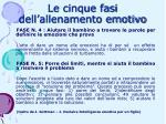 le cinque fasi dell allenamento emotivo2