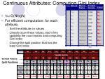 continuous attributes computing gini index1