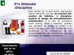 5 s shitsuke disciplina