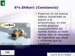 6 s shikari constancia