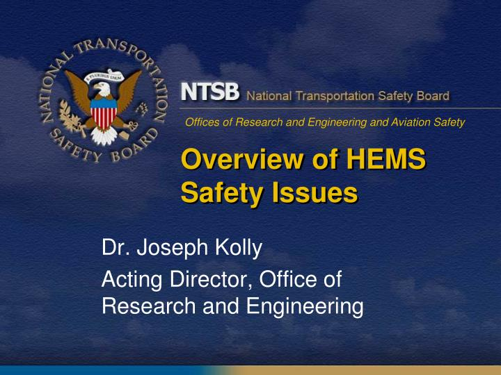 an overview of national transportation safety • increases national highway traffic safety administration civil penalties cap summary • increases funding for highway-railway grade crossings • requires a.