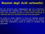 reazioni degli acidi carbossilici1
