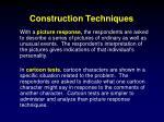 construction techniques