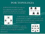 por topologia