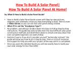how to build a solar panel how to build a solar panel at home4