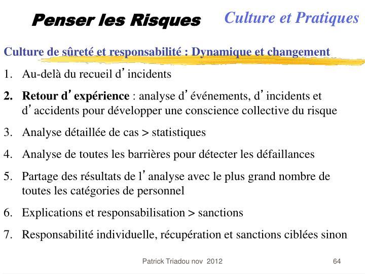Culture et Pratiques
