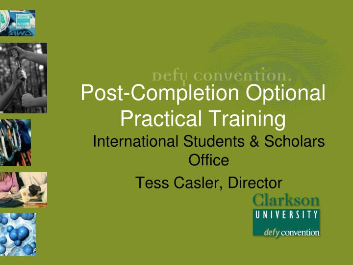 post completion optional practical training n.