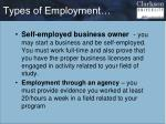 types of employment1