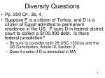 diversity questions