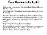 some recommended books1