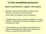 3 3 una inestabilitat permanent